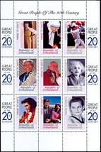 SOMALIA, FAMOUS PEOPLE OF THE 20th CENTURY  WALT DISNEY - $16.95