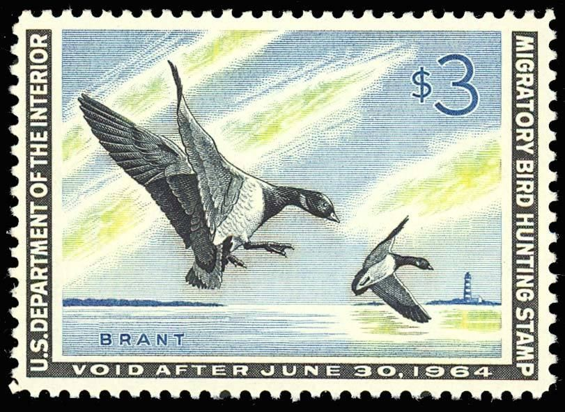 RW30, Mint DUCK STAMP - VF-XF OG NH - Post Office Fresh!! Cat $115.00