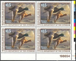 RW66, DUCK PLATE BLOCK XF NH GEM - HARD TO FIND !!! - $134.10