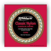 3 sets D'Addario EJ27N Classical Guitar Nylon S... - $15.25