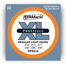 6 Sets D'Addario EPS510 Pro Steels Light Electr... - $28.99