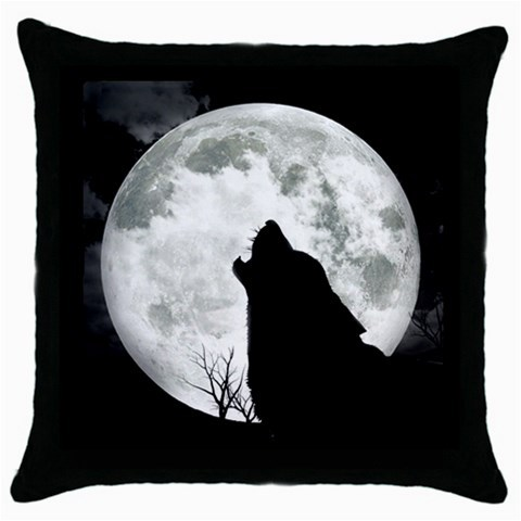 NEW* HOT BRIGHT MOON WOLF Cushion Cover Throw Pillow Case Decor Design Gift