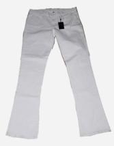 NWT RALPH LAUREN 31 Black Label 380 skinny jeans flare white $398 high-end denim - $106.70
