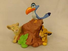 "Disney Lion King Figure 3"" Simba Nala Bird - $9.13"