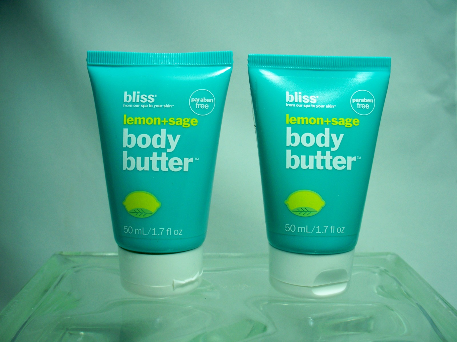 Primary image for Bliss body butter with lemon + sage  2 ea  New 1.7 oz  (sealed)