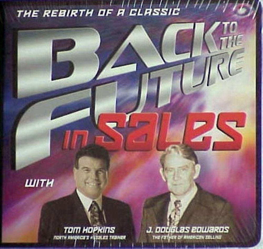 Primary image for TOM HOPKINS - BACK TO THE FUTURE IN SALES - CLOSING - J DOUGLAS EDWARDS - 6 CDS