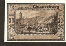 Germany  Notgeld der Stadt Wasserburg am Inn  50 Pfennig 1920 - $10.00
