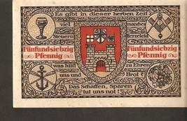 Germany Notgeld Gutschein Konigswinter Rhein 75 Pfennig 1921 - $4.00