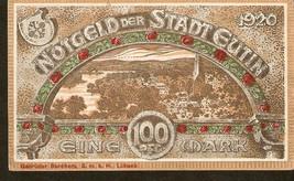 Germany Notgeld der Stadt Eutin  100 Pfennig 1920 - $7.00