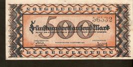 Germany Notgeld der Stadt Kaiserslautern 500,000 Mark 1923 - nr. 56532 - $10.00
