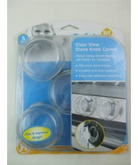 Baby Home Safety 1st Clear View Stove Knob Covers Set of 5 - $10.84