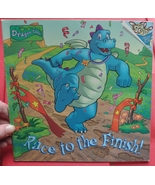 Great Book About Teamwork by Dragon Tales - Race to the Finish! Margaret... - $2.00