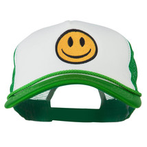 Smiley Face Embroidered Big Size Trucker Cap W43S43E - $19.49