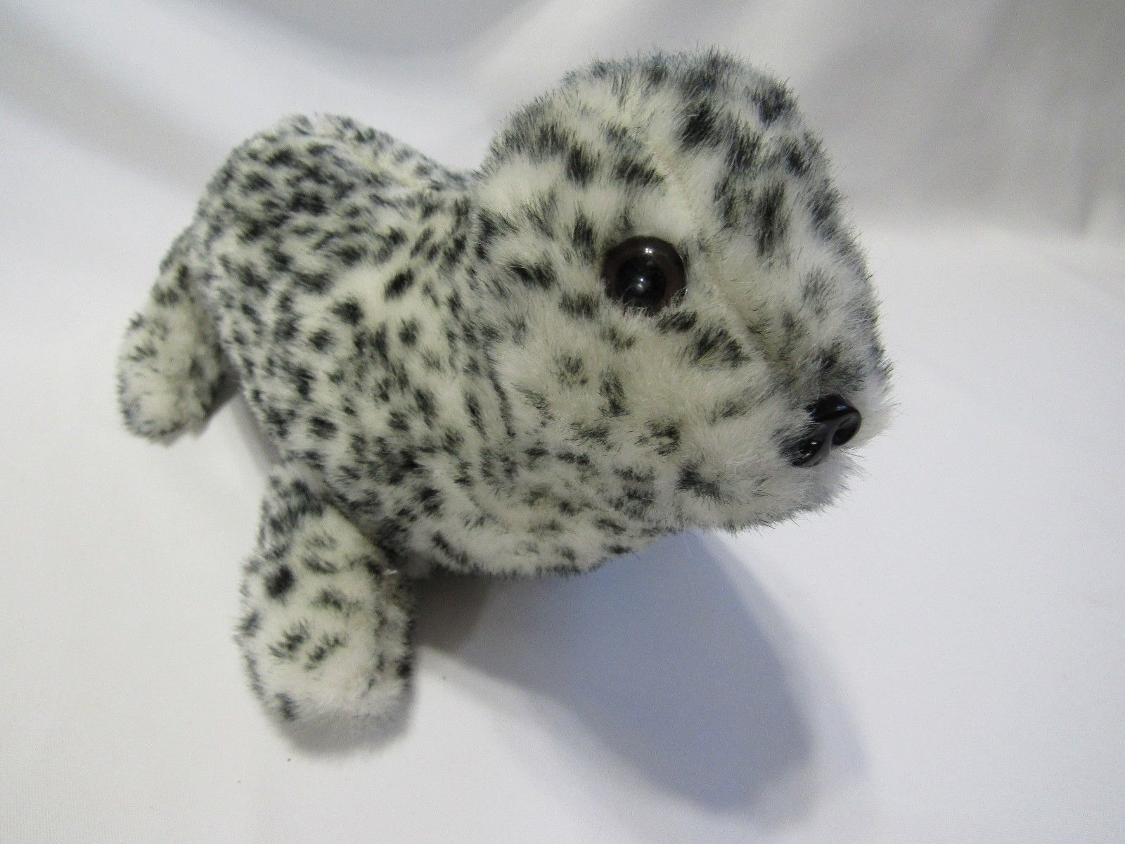 Primary image for Baby Seal Spotted Leopard Plush Stuffed Animal Fundamental 1987 Makes Sound