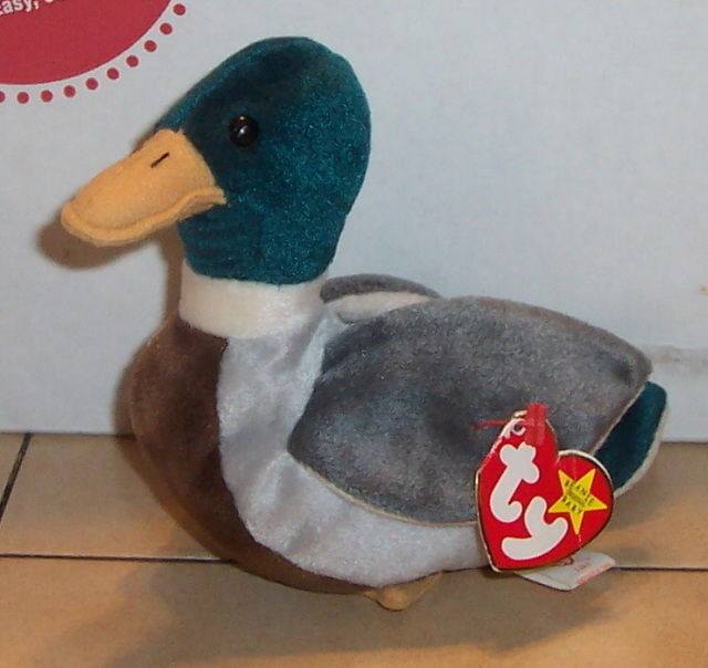 Primary image for Ty Jake the Mallard Duck Beanie Baby plush toy