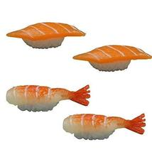 Set of 4 Artificial Lifelike Sushi Simulation Fake Food Home Shops Decor [N] - $18.25