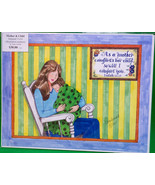 """Signed 11X14 Color Original Art, Local NW Artist Vana Arnold, """"Mother & ... - $9.95"""