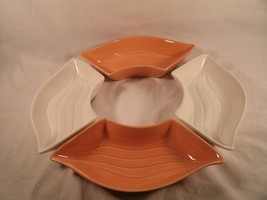 Vintage Set of 4 Mid Century California USA Pottery L34 Serving Dishes - $32.26
