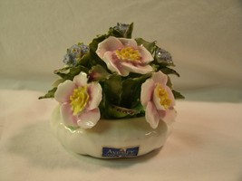 Beautiful Vintage Aynsley Fine Bone China Floral Bouquet Hand Modelled &... - $26.18