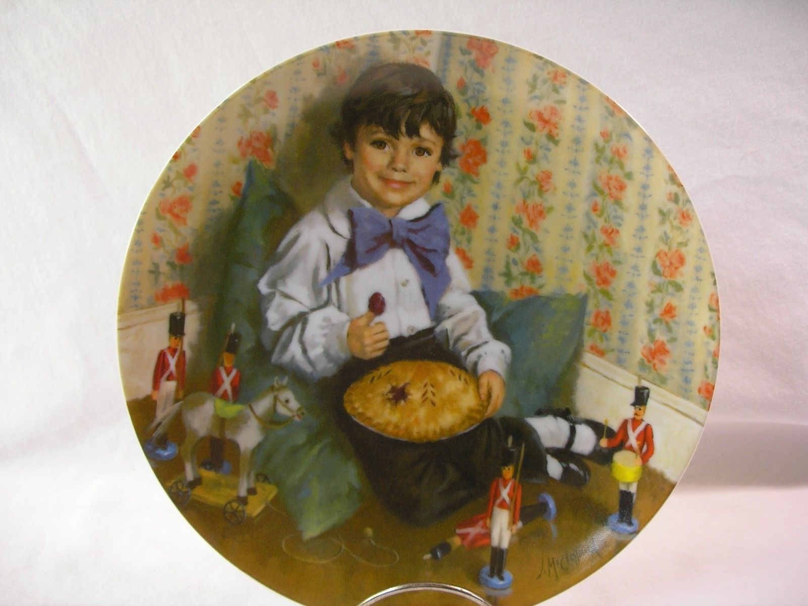 Bradford Exchange 1982 RECO Little Jack Horner John McClelland Collector Plate
