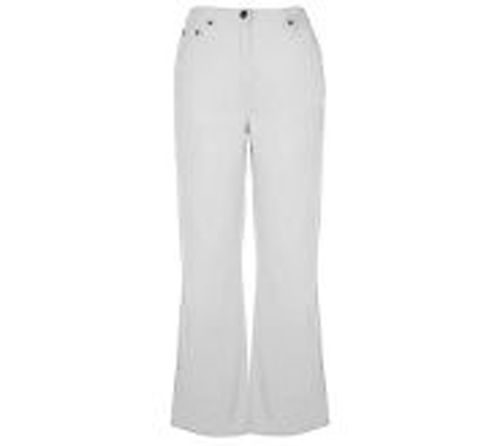 Primary image for Denim & Co Original Fit Crosstretch Jean WHITE 6 NWT