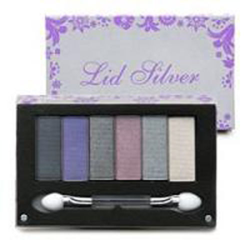Primary image for POP Beauty LID SILVER Eyeshadows 6 Flirty Smokey Shadow Full Sized, Sealed