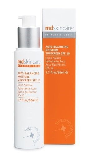 Primary image for MD Skincare Auto-Balancing Moisturizer Moisture Sunscreen SPF10  NWOB 1.7 oz