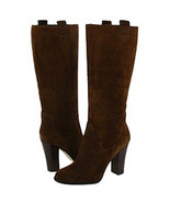 Boutique 9 Ladies Brown Suede BELINDA Knee High Boots 10 M NIB - $123.75