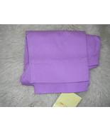 Denim & Co LILAC Purple Stretch Pique Back Zip Crop Pants 6 NWT - $22.77