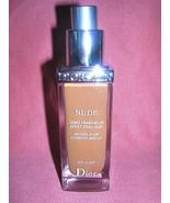 Dior Diorskin Nude Natural Glow Hydrating Makeup Foundation SPF10 Shade ... - $34.65