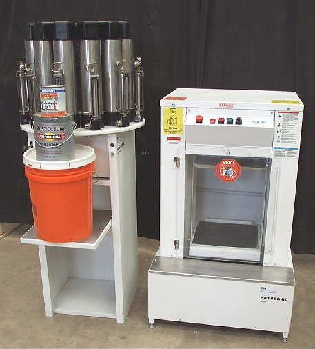 Harbil 5ghd 5 gal paint shaker nsc 80 color dispenser for 5 gallon paint mixer