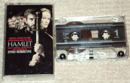 Hamlet Original Motion Picture Soundtrack Cassette Ennio Morricone - $4.99