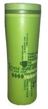 Starbucks Tumbler Green 2010 Travel 16 oz Coffee Cup Mug Save Trees 20% ... - $14.45