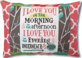Underneath the Moon Words of Wisdom 9x12 pillow kit Pine Mountain Designs - $18.00