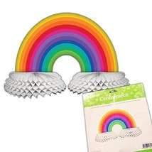 Creative Converting Paper Centerpiece Decoration, Rainbow - $10.47
