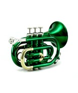 Guarantee Quality Sound Band Green Pocket Trumpet *Back-To-School-20-Day... - $199.99