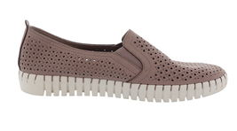 Skechers Perforated Slip-On Shoes Lilac 7.5M NEW A351840 image 3