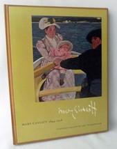 Mary Cassatt National Gallery Art Washington Exibition 1970 Artist HB  F... - $125.75
