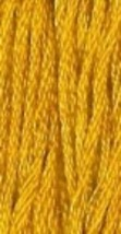 Sunflower (7071) 6 strand hand-dyed cotton floss Gentle Art Sampler Threads - $2.15