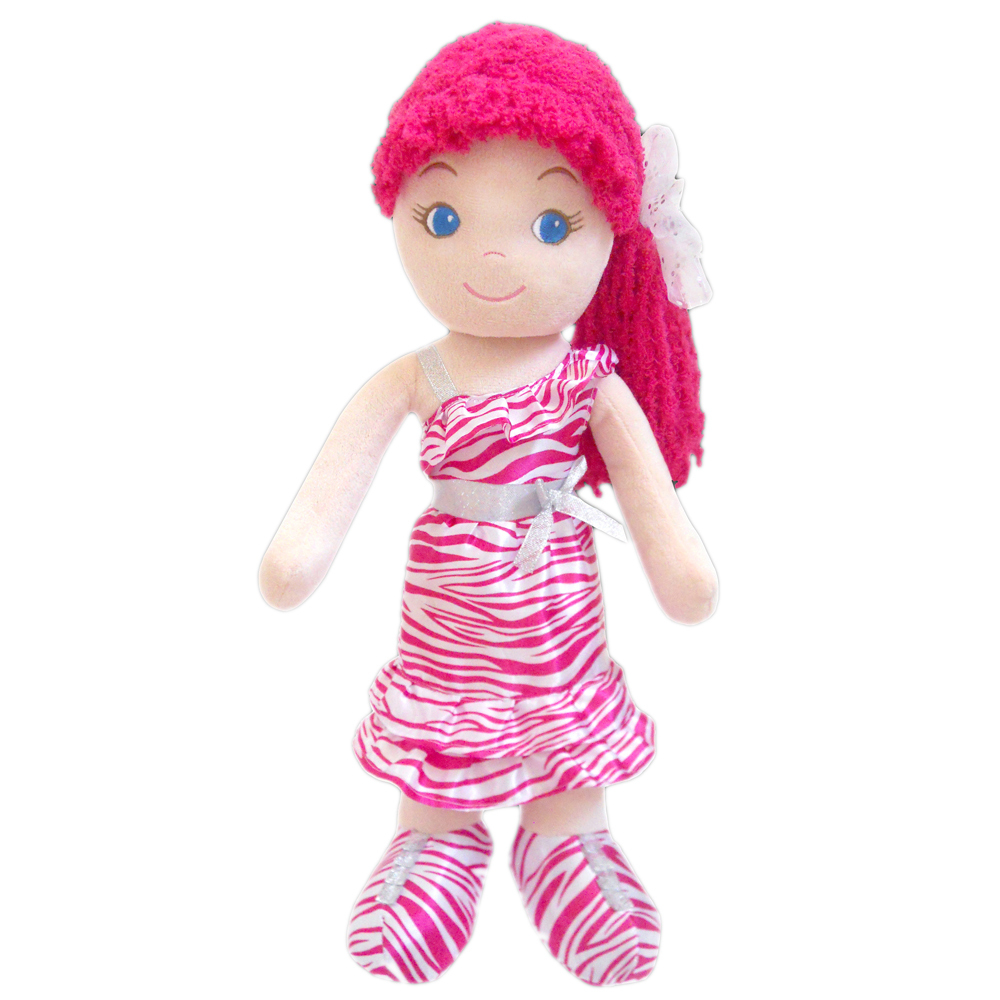 Primary image for GirlznDollz Leila - glamgirl zebra print