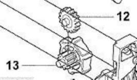 Husqvarna Idler Gear & Adjuster # 545090502 545060201 fits 235E Chainsaw - $12.99