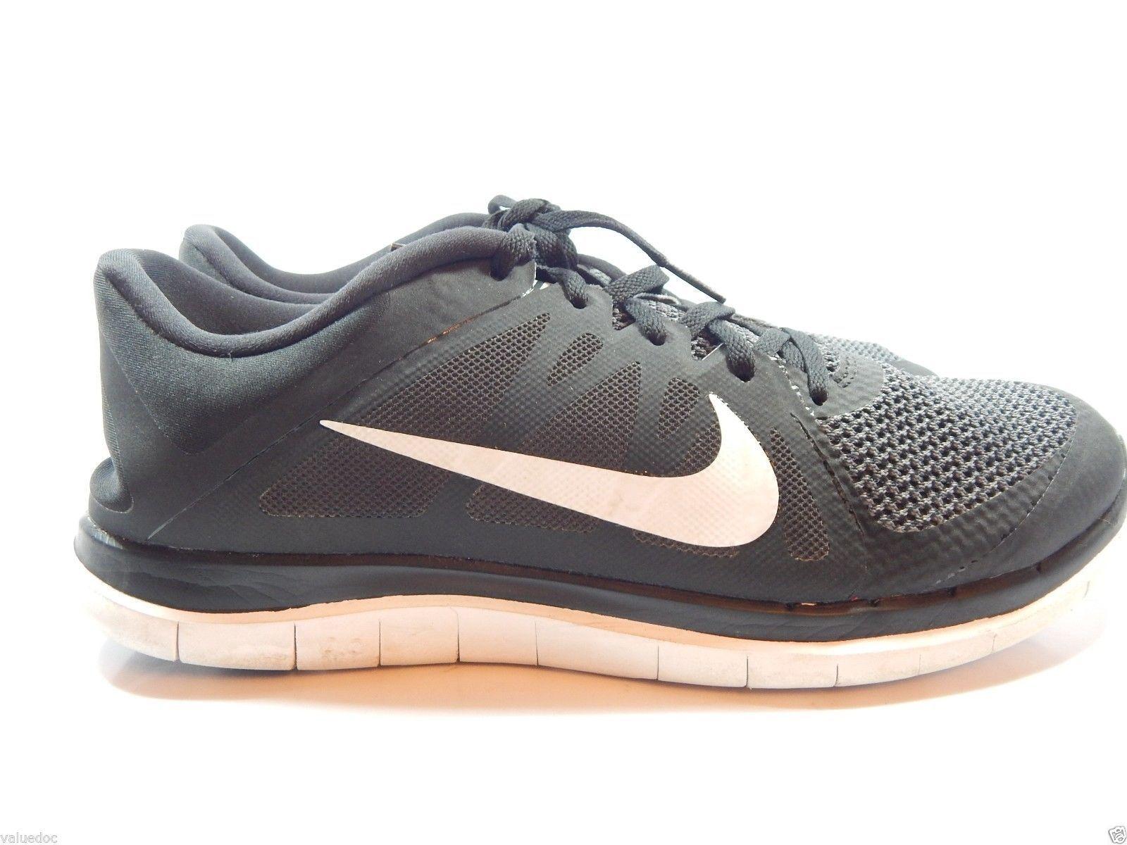 Nike Free 4.0  Mens Running Shoes Size US 12 M ( D ) EU 46 Black White