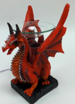 Red Dragon Poly Resin Electric Oil Warmer  - $29.95