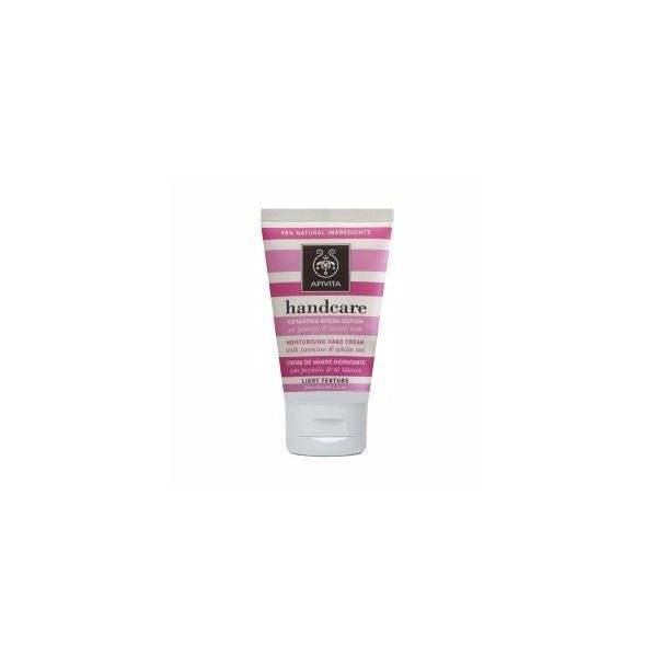 Apivita Moisturizing Hand Cream with jasmine & white tea  50ml