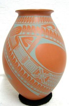 "Mata Ortiz 10.5"" Handbuilt Handpainted  Pottery by by Jose Loya and Ana ... - $198.00"