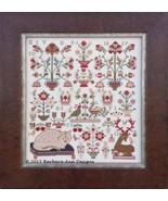 The Feathered Whisperers cross stitch chart Barbara Ana Designs - $14.40