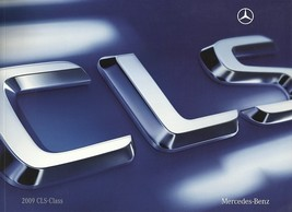 2009 Mercedes-Benz CLS-CLASS brochure catalog 550 CLS63 AMG US 09 - $10.00