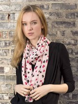 Scattered Hearts Scarf - $16.37 CAD