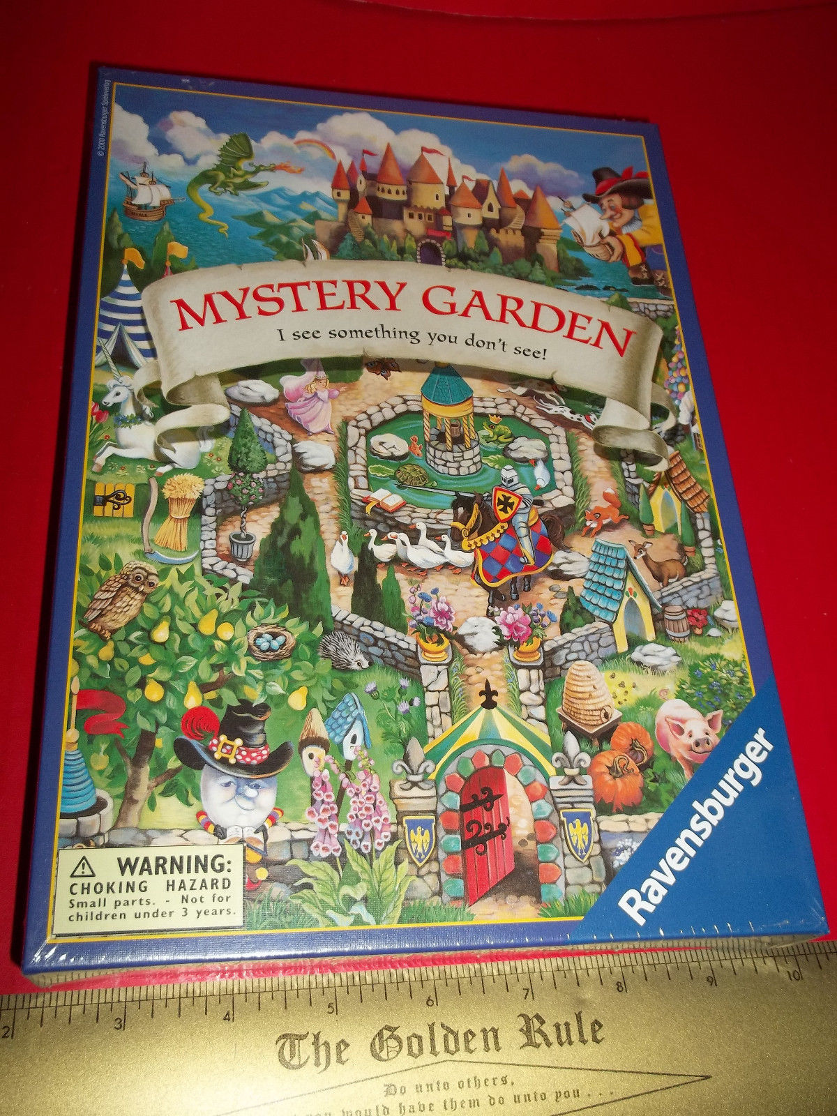 Primary image for Toy Gift Board Game Ravensburger Mystery Garden I See Something You Don't See