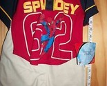 SPIDERMAN Baby Clothes 12M Infant Boy Shorts Set 62 Spider Man Shirt Outfit NEW